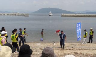 徳山海上保安部の海の安全講習会