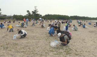 海岸清掃宇部 ②