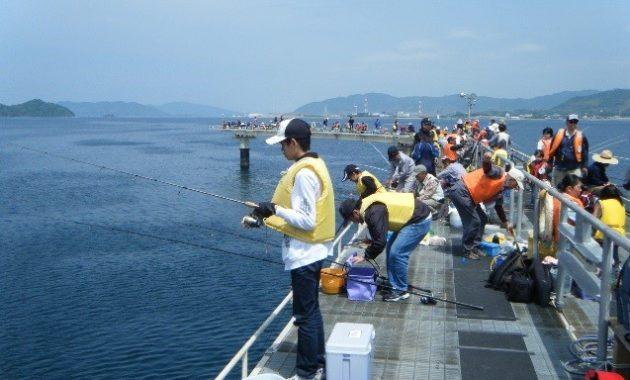 親子釣り大会 写真①
