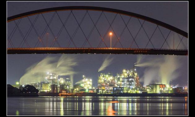 谷野隆_橋と夜景のコラボ